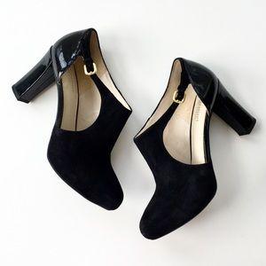 Naturalized N5 Comfort Haberton Black Suede Heels